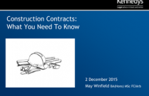 Construction Contracts: What You Need To Know
