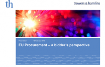 EU Procurement 2013 a bidder's perspective