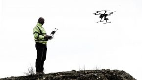 Drone technology: 3D modelling, mapping and topographical surveying