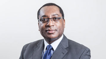 head shot of professor charles Egbu